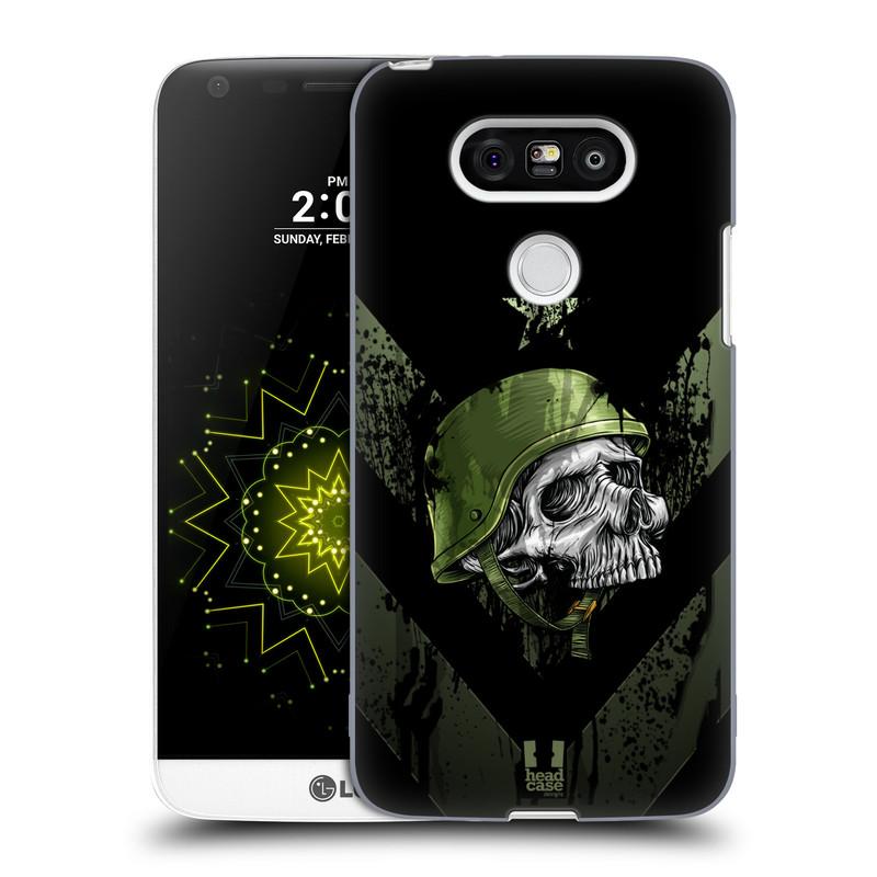 Plastové pouzdro na mobil LG G5 HEAD CASE LEBKA ONE MAN (Kryt či obal na mobilní telefon LG G5 H850)