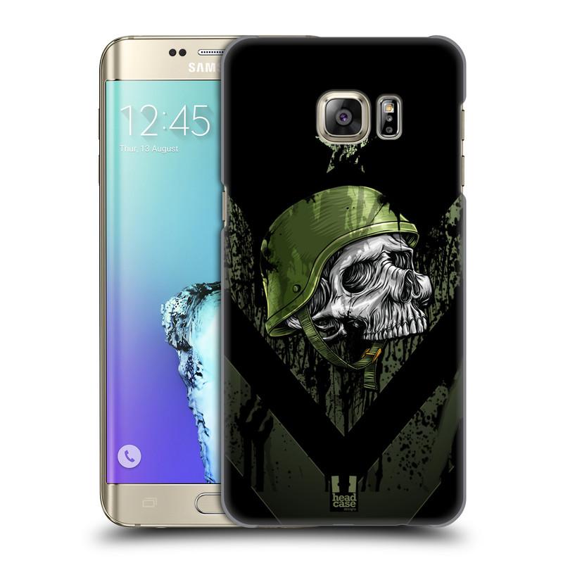 Plastové pouzdro na mobil Samsung Galaxy S6 Edge Plus HEAD CASE LEBKA ONE MAN (Kryt či obal na mobilní telefon Samsung Galaxy S6 Edge Plus SM-G928F)