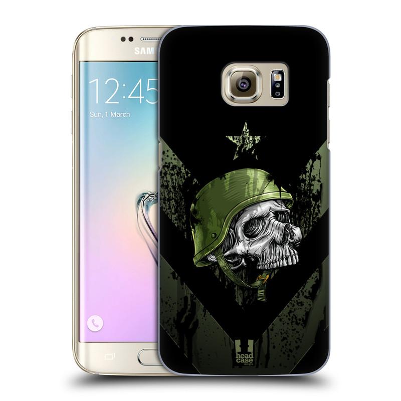 Plastové pouzdro na mobil Samsung Galaxy S7 Edge HEAD CASE LEBKA ONE MAN (Kryt či obal na mobilní telefon Samsung Galaxy S7 Edge SM-G935F)