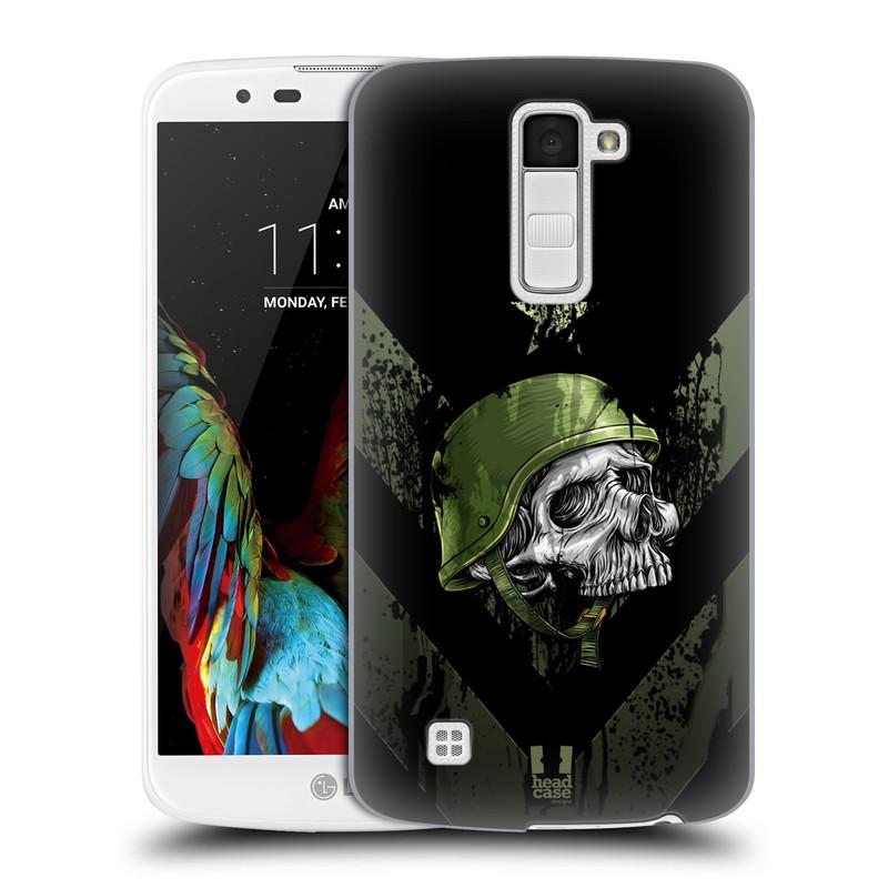 Plastové pouzdro na mobil LG K10 HEAD CASE LEBKA ONE MAN (Kryt či obal na mobilní telefon LG K10)