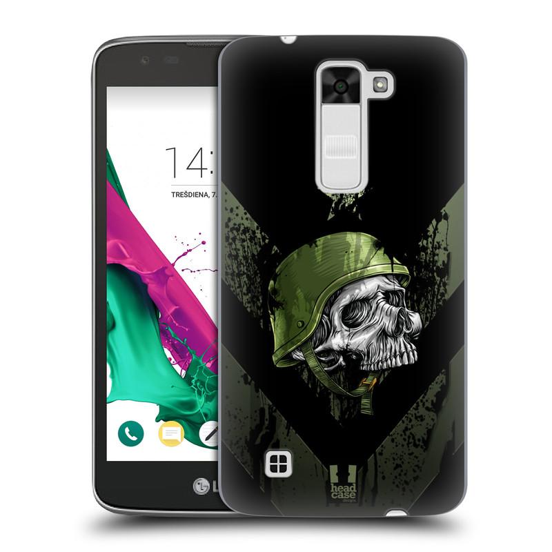 Plastové pouzdro na mobil LG K7 HEAD CASE LEBKA ONE MAN (Kryt či obal na mobilní telefon LG K7)