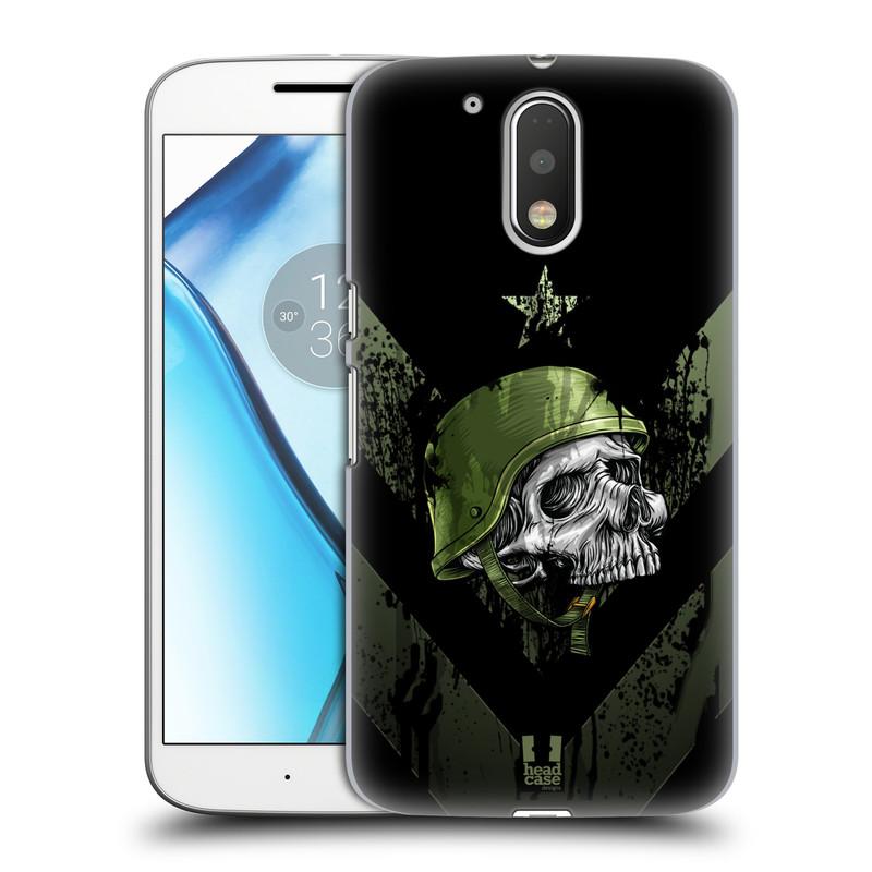 Plastové pouzdro na mobil Lenovo Moto G4 HEAD CASE LEBKA ONE MAN (Plastový kryt či obal na mobilní telefon Lenovo Moto G4 (Single a Dual SIM))