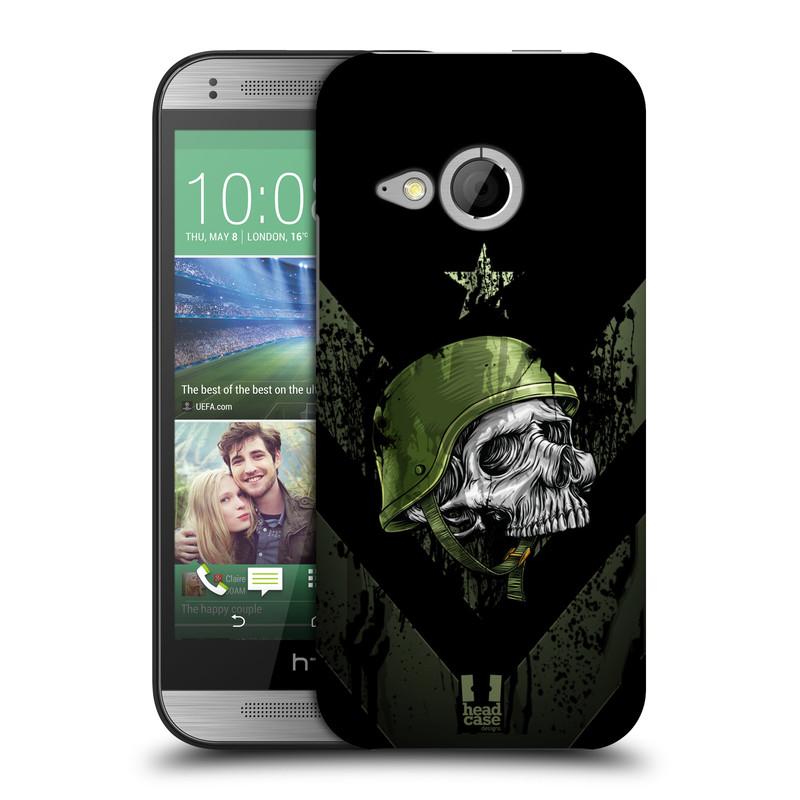 Plastové pouzdro na mobil HTC ONE Mini 2 HEAD CASE LEBKA ONE MAN (Kryt či obal na mobilní telefon HTC ONE Mini 2)