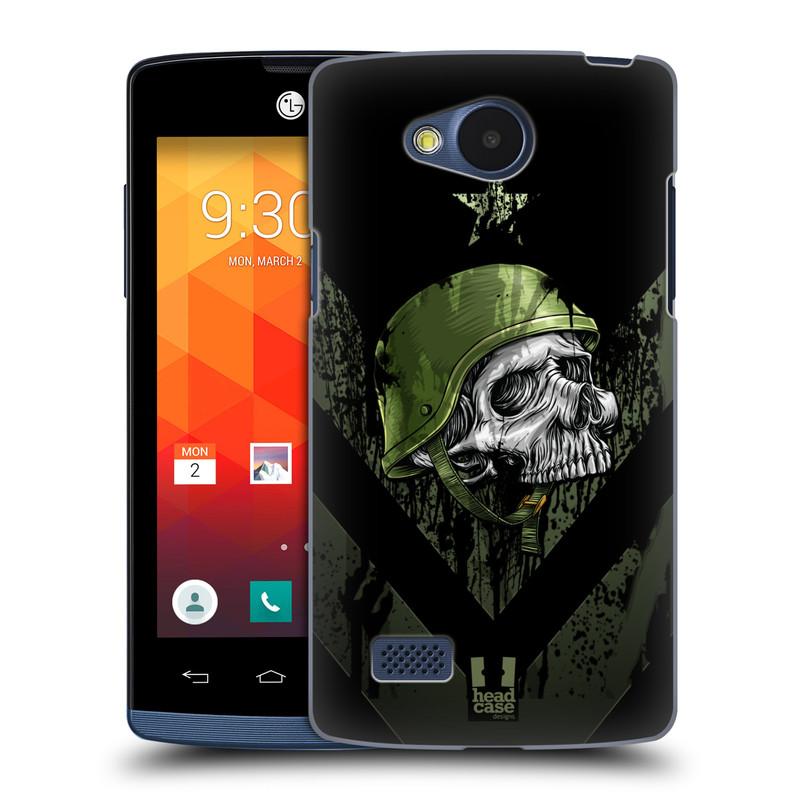 Plastové pouzdro na mobil LG Joy HEAD CASE LEBKA ONE MAN (Kryt či obal na mobilní telefon LG Joy H220)