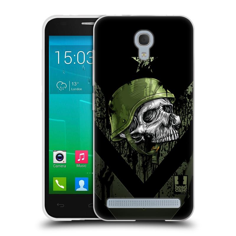 Silikonové pouzdro na mobil Alcatel One Touch Idol 2 Mini S 6036Y HEAD CASE LEBKA ONE MAN (Silikonový kryt či obal na mobilní telefon Alcatel Idol 2 Mini S OT-6036Y)