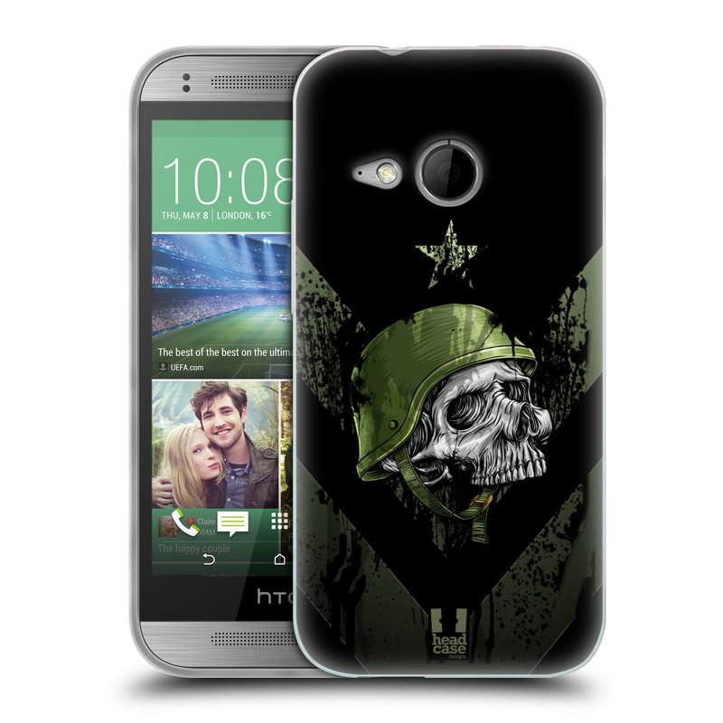 Silikonové pouzdro na mobil HTC ONE Mini 2 HEAD CASE LEBKA ONE MAN (Silikonový kryt či obal na mobilní telefon HTC ONE Mini 2)
