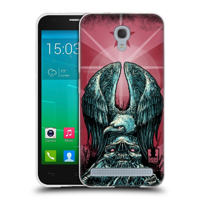 Silikonové pouzdro na mobil Alcatel One Touch Idol 2 Mini S 6036Y HEAD CASE OREL PATRIOIC (Silikonový kryt či obal na mobilní telefon Alcatel Idol 2 Mini S OT-6036Y)