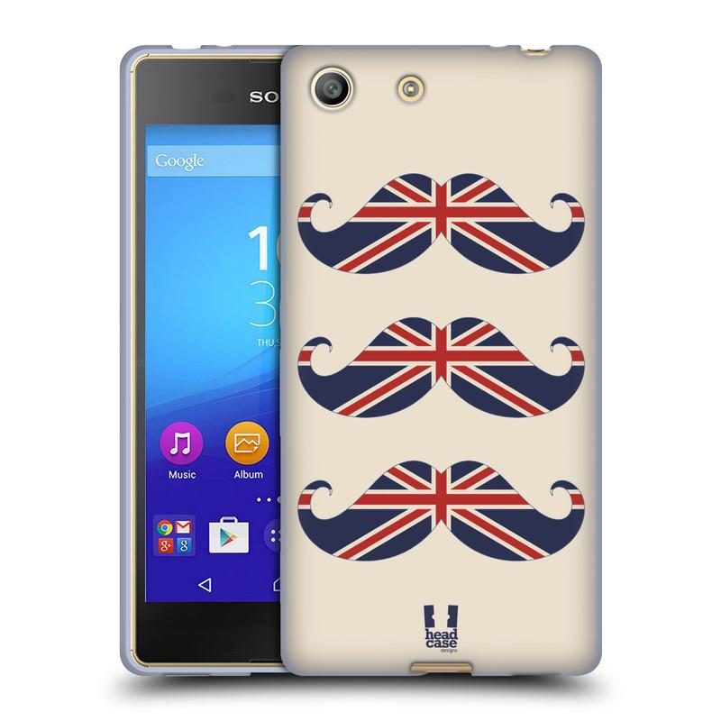 Silikonové pouzdro na mobil Sony Xperia M5 HEAD CASE BRITSKÉ KNÍRY (Silikonový kryt či obal na mobilní telefon Sony Xperia M5 Dual SIM / Aqua)