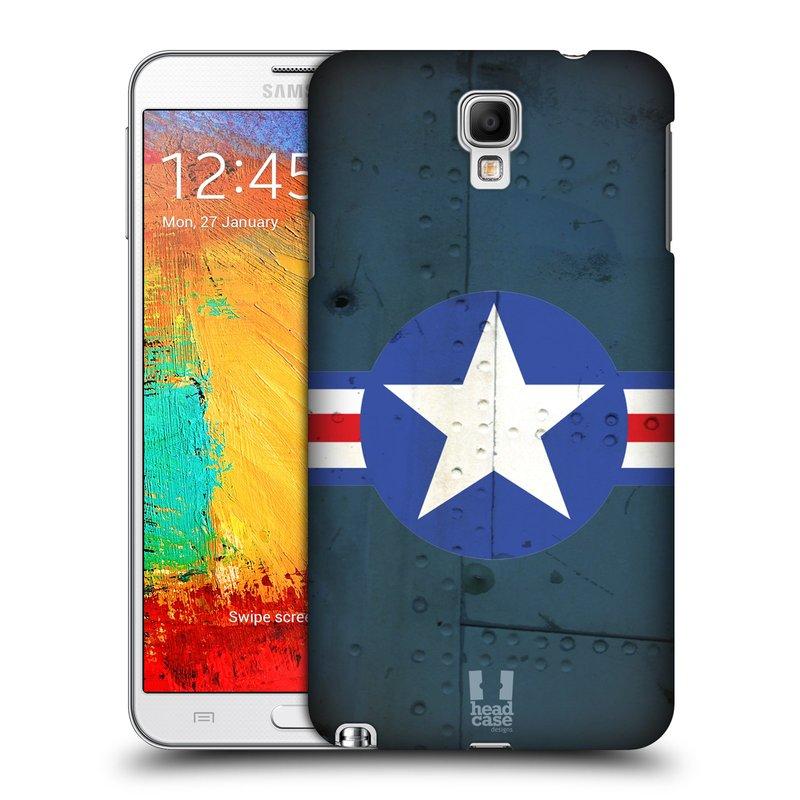 Plastové pouzdro na mobil Samsung Galaxy Note 3 Neo HEAD CASE POSTWAR (Kryt či obal na mobilní telefon Samsung Galaxy Note 3 Neo SM-N7505)