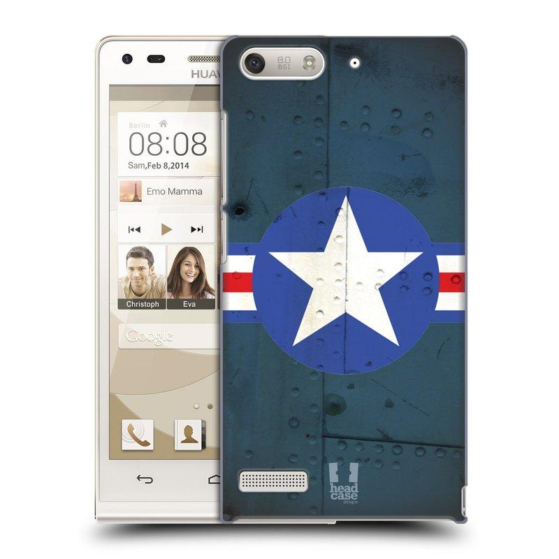 Plastové pouzdro na mobil Huawei Ascend G6 HEAD CASE POSTWAR (Kryt či obal na mobilní telefon Huawei Ascend G6 bez LTE)