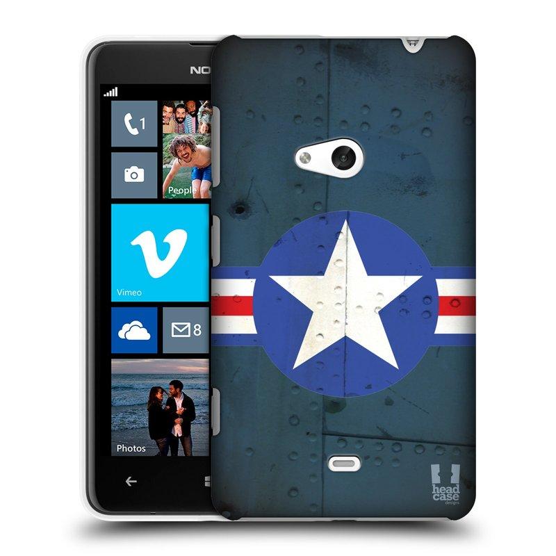 Plastové pouzdro na mobil Nokia Lumia 625 HEAD CASE POSTWAR (Kryt či obal na mobilní telefon Nokia Lumia 625)