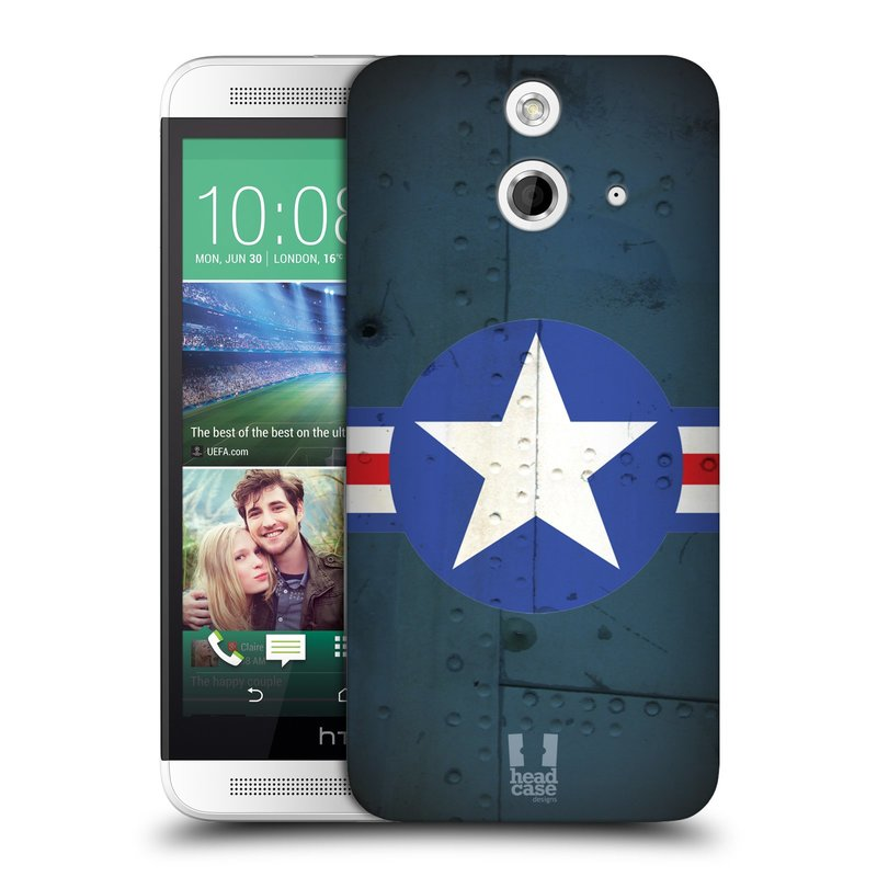 Plastové pouzdro na mobil HTC ONE E8 HEAD CASE POSTWAR (Kryt či obal na mobilní telefon HTC ONE E8)