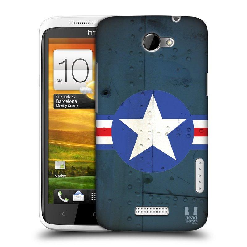Plastové pouzdro na mobil HTC ONE X HEAD CASE POSTWAR (Kryt či obal na mobilní telefon HTC ONE X)