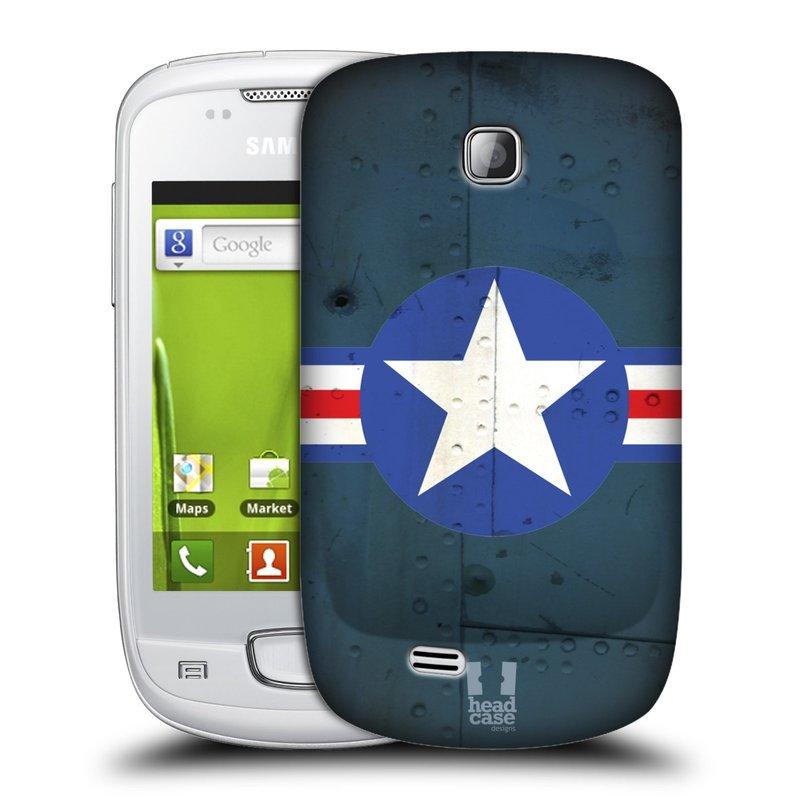 Plastové pouzdro na mobil Samsung Galaxy Mini HEAD CASE POSTWAR (Kryt či obal na mobilní telefon Samsung Galaxy Mini GT-S5570 / GT-S5570i)