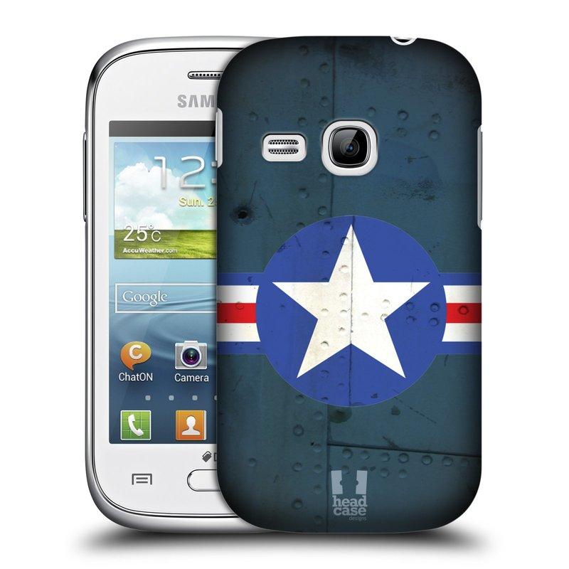 Plastové pouzdro na mobil Samsung Galaxy Young HEAD CASE POSTWAR (Kryt či obal na mobilní telefon Samsung Galaxy Young GT-S6310)