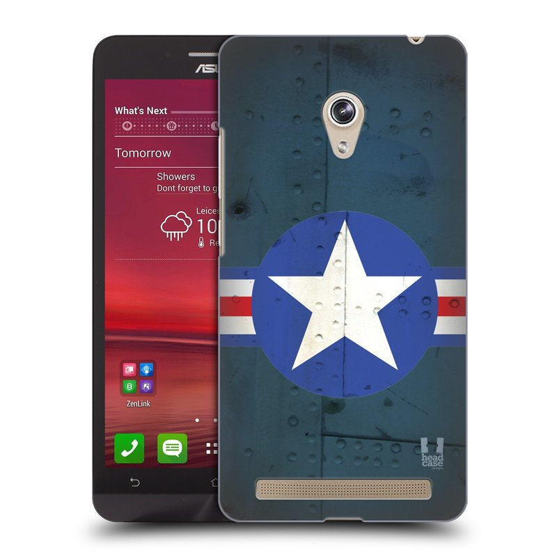 Plastové pouzdro na mobil Asus Zenfone 6 HEAD CASE POSTWAR (Kryt či obal na mobilní telefon Asus Zenfone 6 A600CG / A601CG)