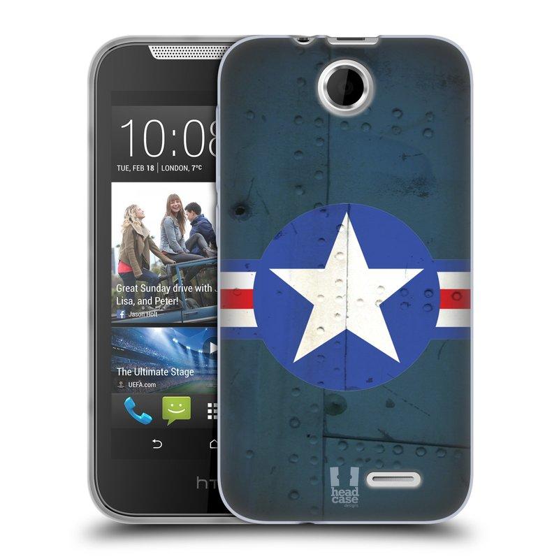 Silikonové pouzdro na mobil HTC Desire 310 HEAD CASE POSTWAR (Silikonový kryt či obal na mobilní telefon HTC Desire 310)