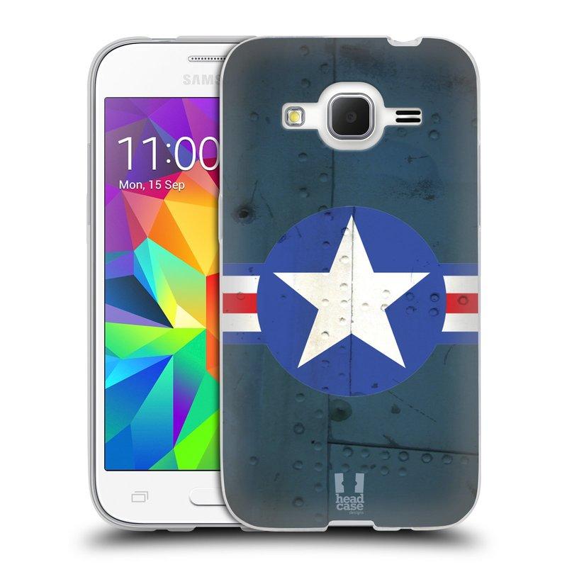 Silikonové pouzdro na mobil Samsung Galaxy Core Prime LTE HEAD CASE POSTWAR (Silikonový kryt či obal na mobilní telefon Samsung Galaxy Core Prime LTE SM-G360)