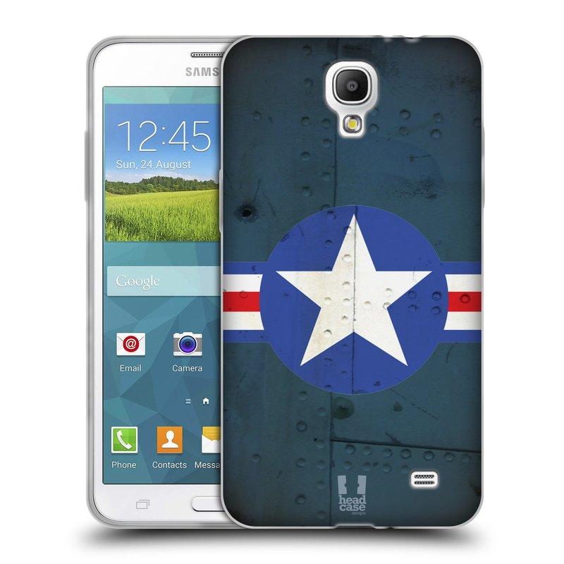 Silikonové pouzdro na mobil Samsung Galaxy Grand Mega 2 HEAD CASE POSTWAR (Silikonový kryt či obal na mobilní telefon Samsung Galaxy Grand Mega 2 SM-G750)
