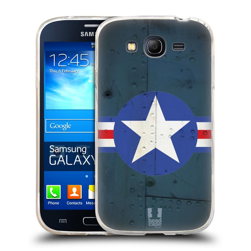 Silikonové pouzdro na mobil Samsung Galaxy Grand Neo Plus HEAD CASE POSTWAR (Silikonový kryt či obal na mobilní telefon Samsung Galaxy Grand Neo Plus Duos GT-I9060i)