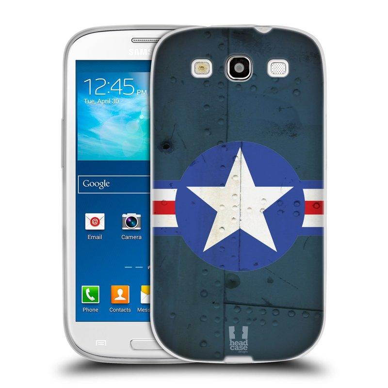 Silikonové pouzdro na mobil Samsung Galaxy S3 Neo HEAD CASE POSTWAR (Silikonový kryt či obal na mobilní telefon Samsung Galaxy S3 Neo GT-i9301i)