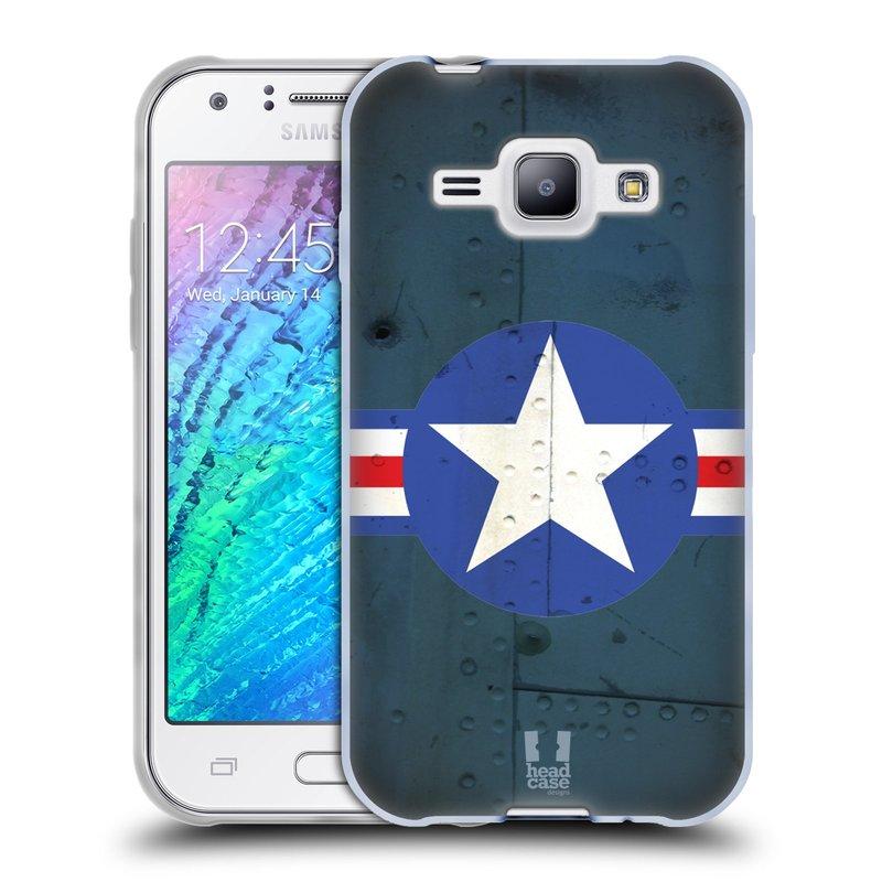 Silikonové pouzdro na mobil Samsung Galaxy J1 HEAD CASE POSTWAR (Silikonový kryt či obal na mobilní telefon Samsung Galaxy J1 a J1 Duos)