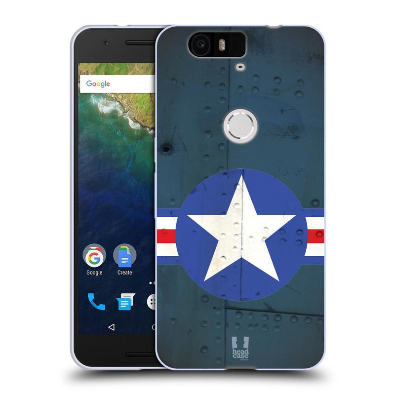 Silikonové pouzdro na mobil Huawei Nexus 6P HEAD CASE POSTWAR (Silikonový kryt či obal na mobilní telefon Huawei Nexus 6P)