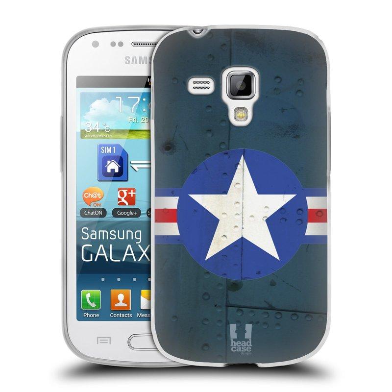Silikonové pouzdro na mobil Samsung Galaxy S Duos 2 HEAD CASE POSTWAR (Silikonový kryt či obal na mobilní telefon Samsung Galaxy S Duos 2 GT-S7582)