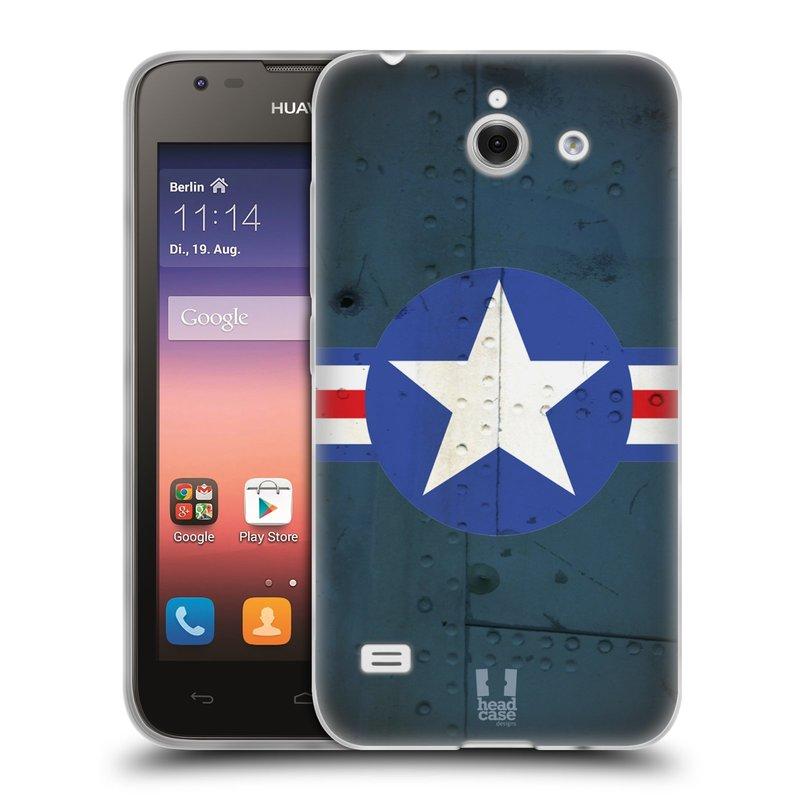 Silikonové pouzdro na mobil Huawei Ascend Y550 HEAD CASE POSTWAR (Silikonový kryt či obal na mobilní telefon Huawei Ascend Y550)