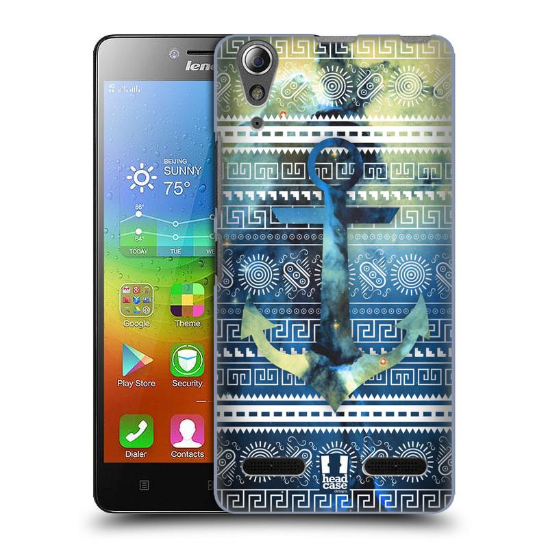 Plastové pouzdro na mobil Lenovo A6000 HEAD CASE NEBULA KOTVA (Kryt či obal na mobilní telefon Lenovo A6000 / A6000 Plus)