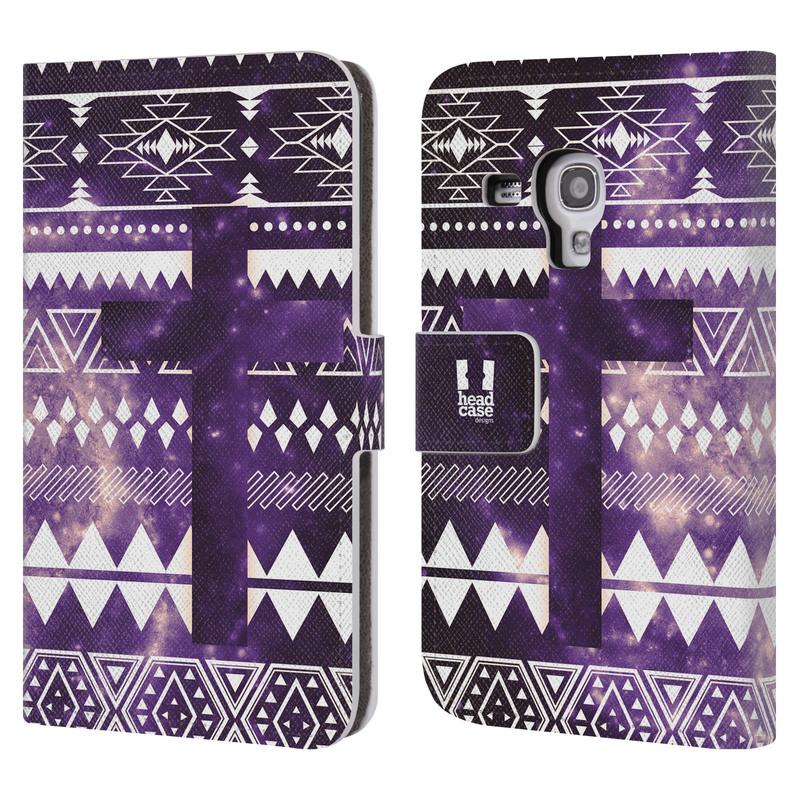 Flipové pouzdro na mobil Samsung Galaxy S III Mini HEAD CASE Aztec Cross (Flipový vyklápěcí kryt či obal z umělé kůže na mobilní telefon Samsung Galaxy S III Mini GT-I8190)