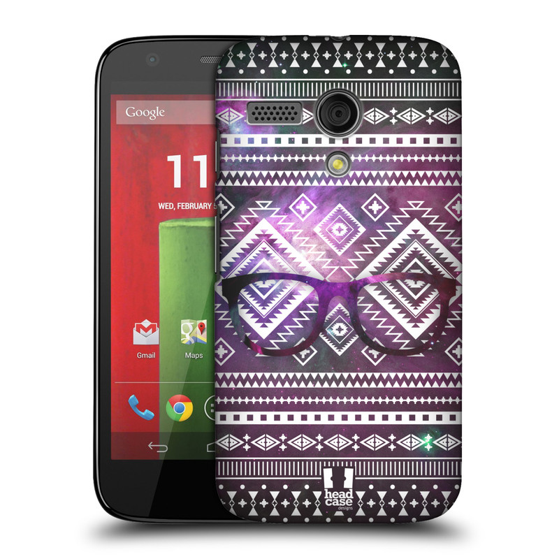 Plastové pouzdro na mobil Motorola Moto G HEAD CASE NEBULA BRÝLE (Kryt či obal na mobilní telefon Motorola Moto G)