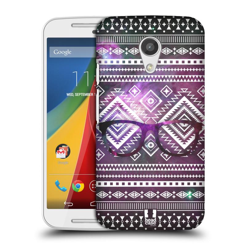 Plastové pouzdro na mobil Motorola Moto G 2ND GENERATION HEAD CASE NEBULA BRÝLE (Kryt či obal na mobilní telefon Motorola Moto G 2. Generace)