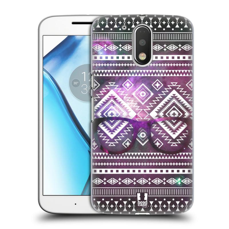 Plastové pouzdro na mobil Lenovo Moto G4 HEAD CASE NEBULA BRÝLE (Plastový kryt či obal na mobilní telefon Lenovo Moto G4 (Single a Dual SIM))