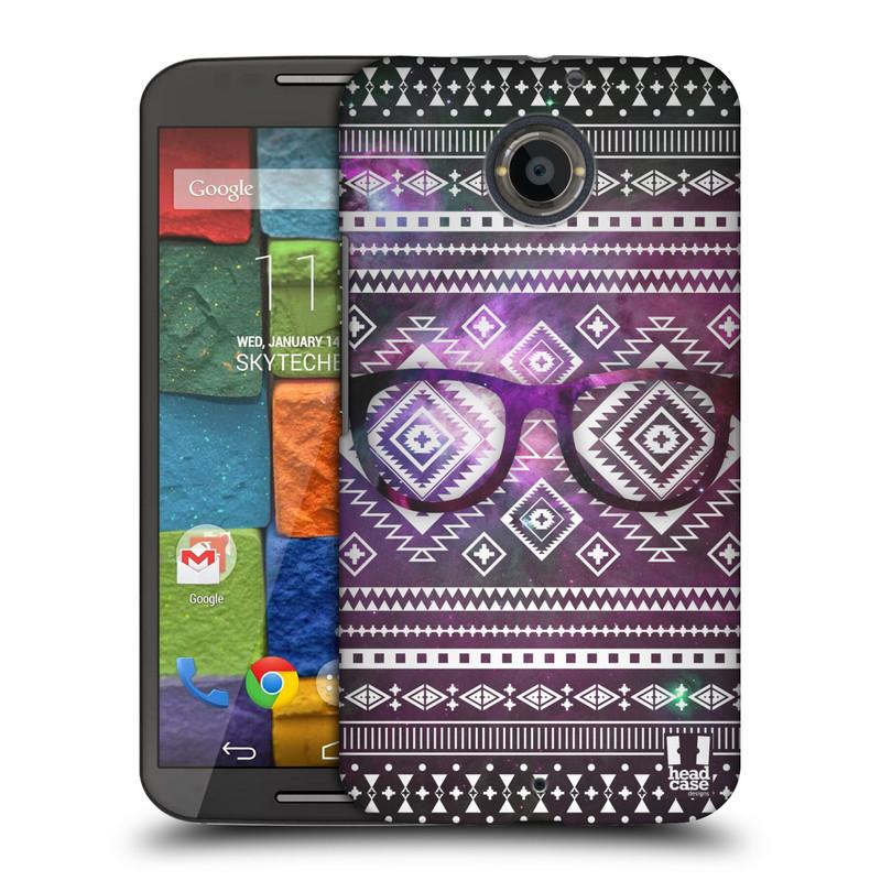 Plastové pouzdro na mobil Motorola Moto X 2ND GENERATION HEAD CASE NEBULA BRÝLE (Kryt či obal na mobilní telefon Motorola Moto X 2. Generace)