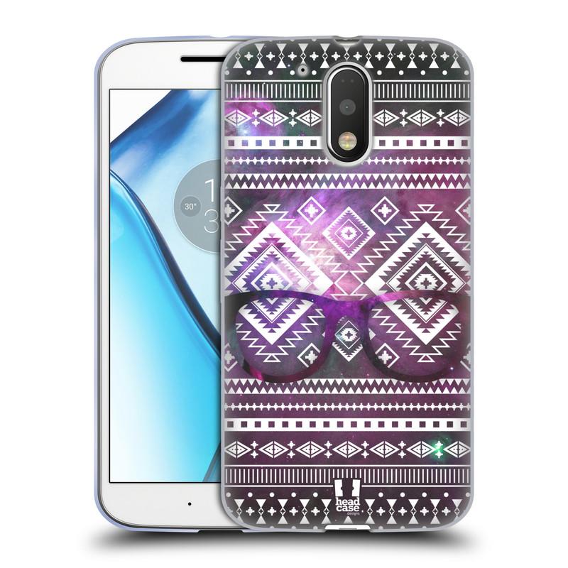 Silikonové pouzdro na mobil Lenovo Moto G4 HEAD CASE NEBULA BRÝLE (Silikonový kryt či obal na mobilní telefon Lenovo Moto G4 (Single a Dual SIM))