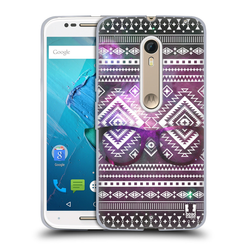 Silikonové pouzdro na mobil Motorola Moto X Style HEAD CASE NEBULA BRÝLE (Silikonový kryt či obal na mobilní telefon Motorola Moto X Style)