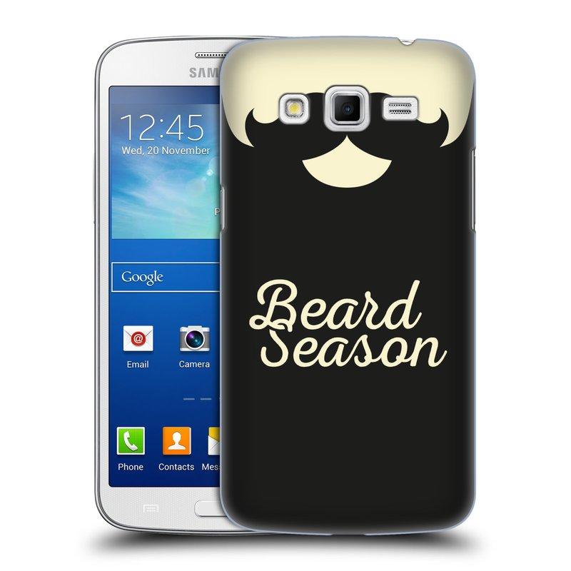 Plastové pouzdro na mobil Samsung Galaxy Grand 2 HEAD CASE KNÍR BEARD SEASON (Plastový kryt či obal na mobilní telefon Samsung Galaxy Grand 2 LTE SM-G7105F a Samsung Galaxy Grand 2 Duos SM-G7102F)