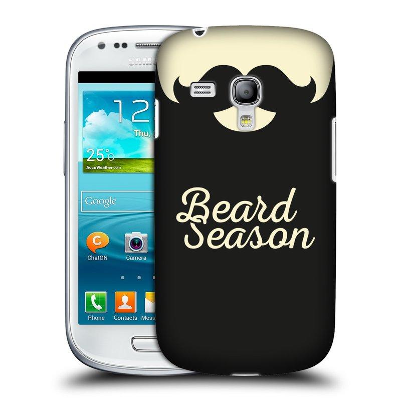 Silikonové pouzdro na mobil Samsung Galaxy S III Mini VE HEAD CASE KNÍR BEARD SEASON (Plastový kryt či obal na mobilní telefon Samsung Galaxy S3 Mini VE GT-i8200)