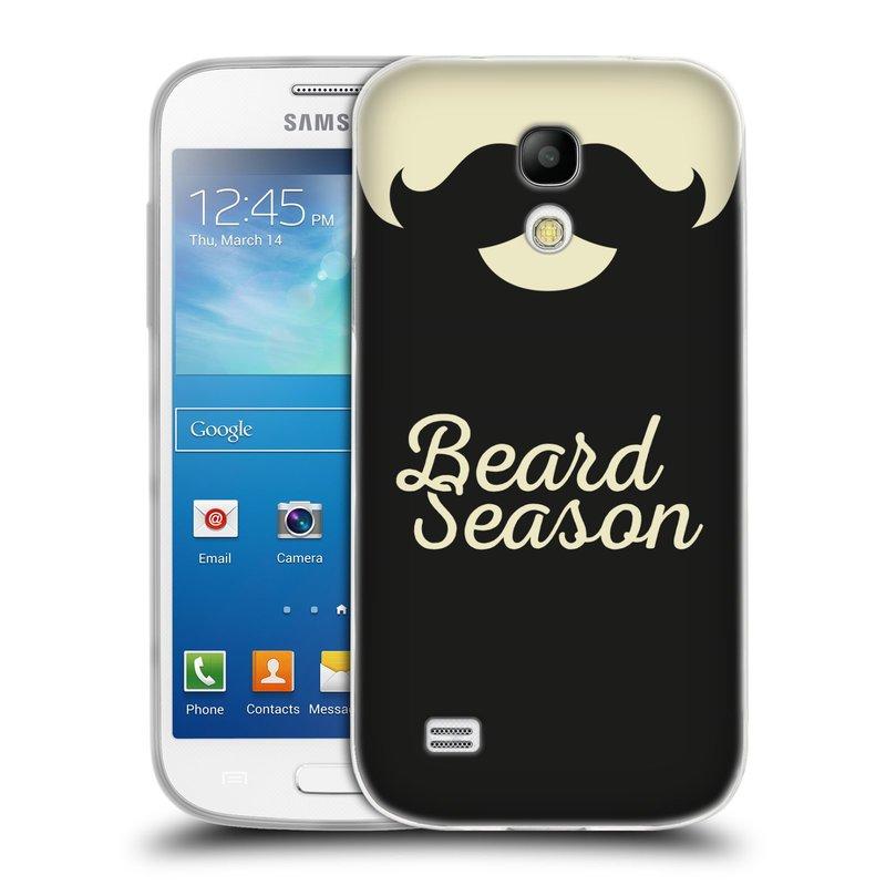 Silikonové pouzdro na mobil Samsung Galaxy S4 Mini HEAD CASE KNÍR BEARD SEASON (Silikonový kryt či obal na mobilní telefon Samsung Galaxy S4 Mini GT-i9195 / i9190)
