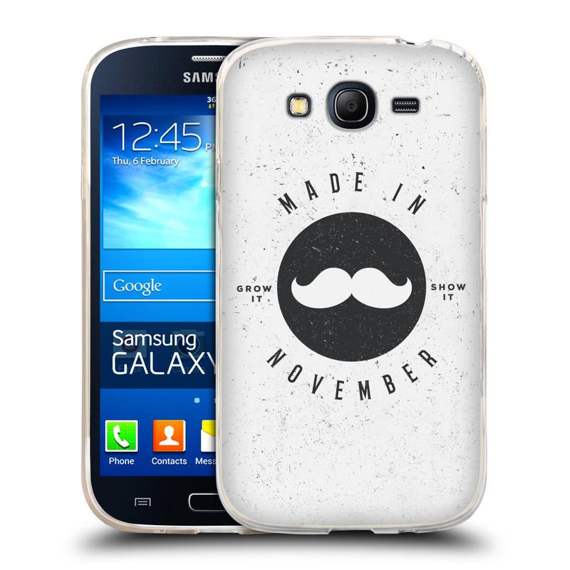 Silikonové pouzdro na mobil Samsung Galaxy Grand Neo HEAD CASE KNÍR MADE IN NOVEMBER (Silikonový kryt či obal na mobilní telefon Samsung Galaxy Grand Neo GT-I9060)