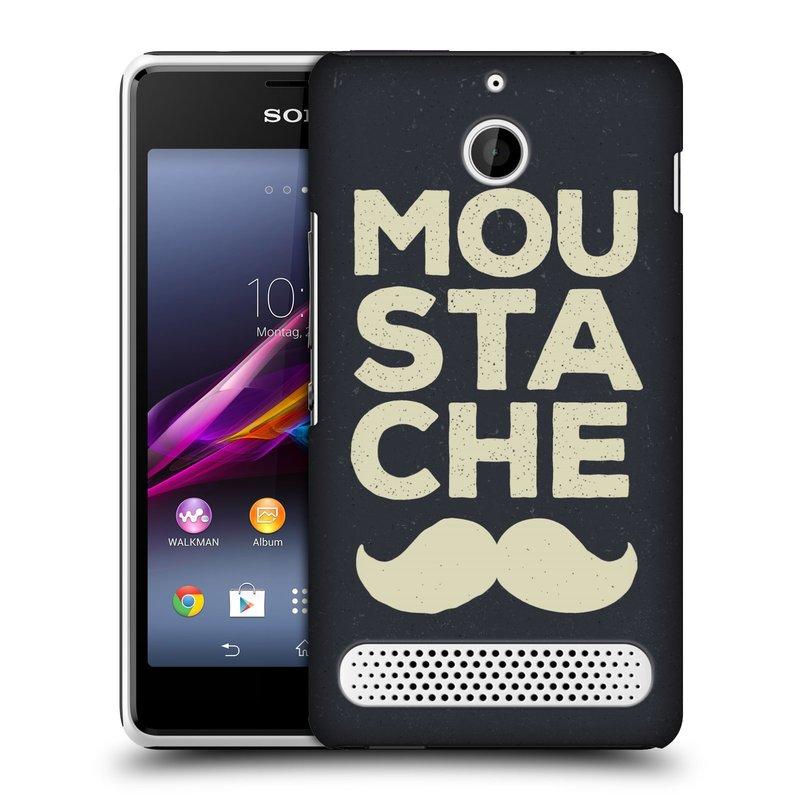 Plastové pouzdro na mobil Sony Xperia E1 D2005 HEAD CASE KNÍR MOU STA CHE (Plastový kryt či obal na mobilní telefon Sony Xperia E1 a E1 Dual)