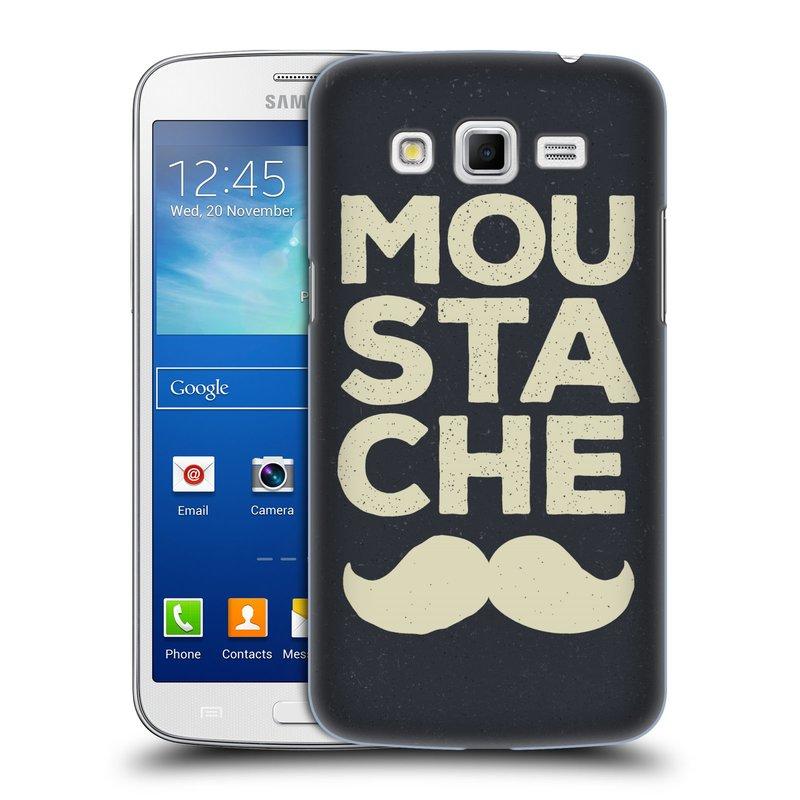 Plastové pouzdro na mobil Samsung Galaxy Grand 2 HEAD CASE KNÍR MOU STA CHE (Plastový kryt či obal na mobilní telefon Samsung Galaxy Grand 2 LTE SM-G7105F a Samsung Galaxy Grand 2 Duos SM-G7102F)