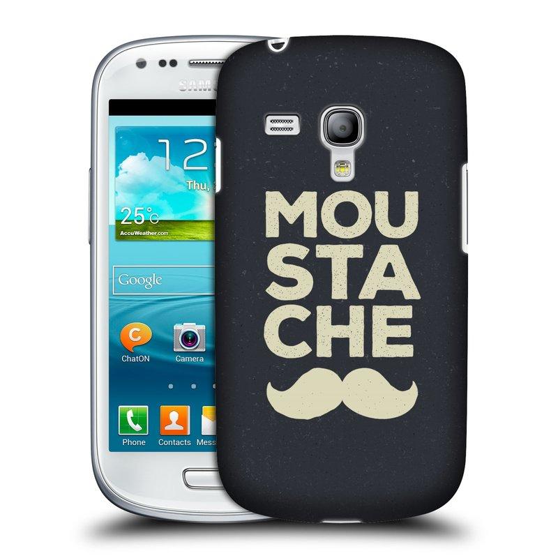 Silikonové pouzdro na mobil Samsung Galaxy S III Mini VE HEAD CASE KNÍR MOU STA CHE (Plastový kryt či obal na mobilní telefon Samsung Galaxy S3 Mini VE GT-i8200)