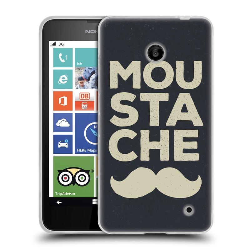 Silikonové pouzdro na mobil Nokia Lumia 635 HEAD CASE KNÍR MOU STA CHE (Silikonový kryt či obal na mobilní telefon Nokia Lumia 635 Dual SIM)