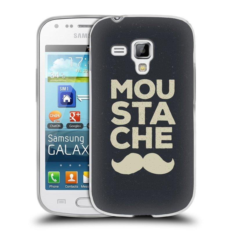 Silikonové pouzdro na mobil Samsung Galaxy S Duos HEAD CASE KNÍR MOU STA CHE (Silikonový kryt či obal na mobilní telefon Samsung Galaxy S Duos GT-S7562)