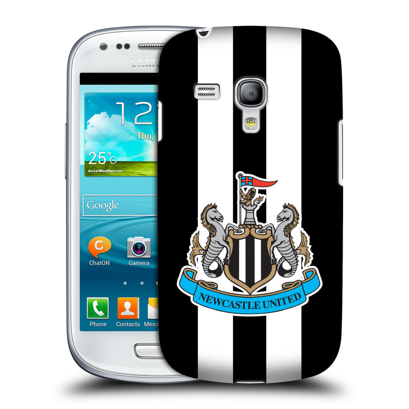 Plastové pouzdro na mobil Samsung Galaxy S III Mini VE HEAD CASE Newcastle United FC - Pruhy (Kryt či obal na mobilní telefon s licencovaným motivem Newcastle United pro Samsung Galaxy S3 Mini VE GT-i8200)