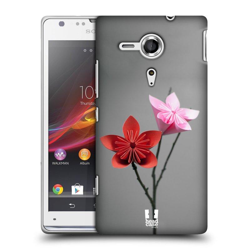 Plastové pouzdro na mobil Sony Xperia SP C5303 HEAD CASE KUSUDAMA (Kryt či obal na mobilní telefon Sony Xperia SP )