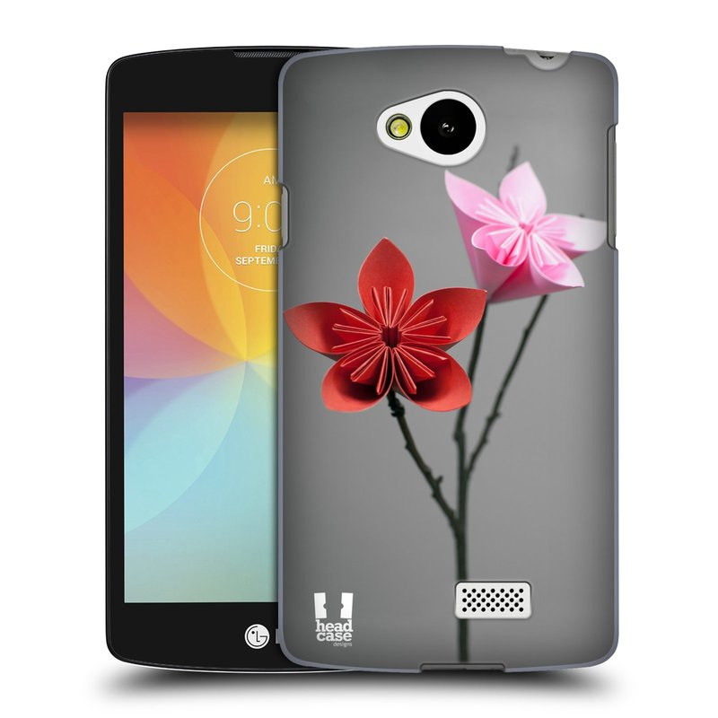 Plastové pouzdro na mobil LG F60 HEAD CASE KUSUDAMA (Kryt či obal na mobilní telefon LG F60 D390n)