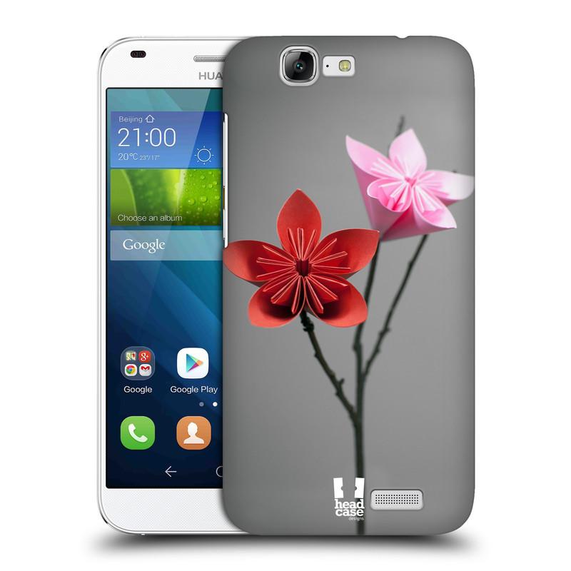 Plastové pouzdro na mobil Huawei Ascend G7 HEAD CASE KUSUDAMA (Kryt či obal na mobilní telefon Huawei Ascend G7)